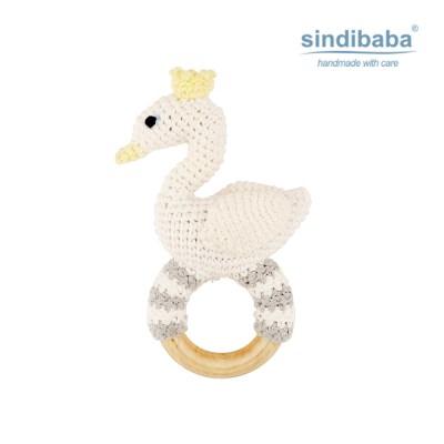 [Sindibaba] 신디바바_우아한 비앙카 딸랑이(화이트)_(1468890)