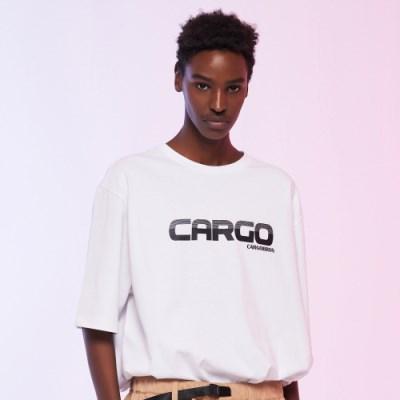 [카고브로스]CARGOBROS - CARGO LOGO TEE (WHITE) 반팔_(1004418)
