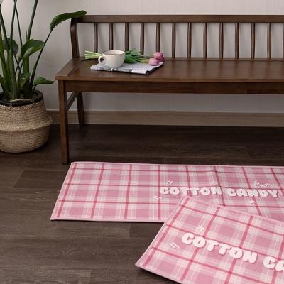 핑크버블캔디 45x65cm,45x130cm 발매트 욕실매트