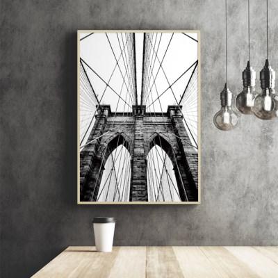 브루클린다리 뉴욕 사진 액자 인테리어 그림 포스터