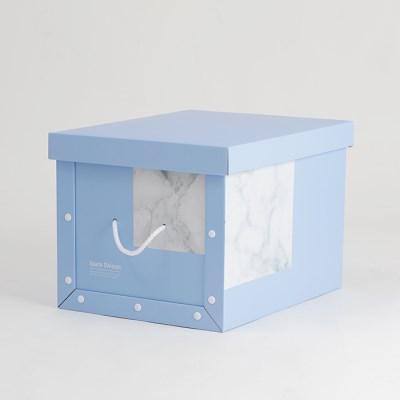 마블 블루 정리함 트렁크 (2p)