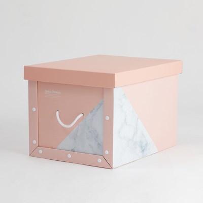 마블 핑크 정리함 트렁크 (2p)
