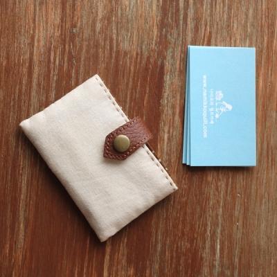 (퀼트diy패키지) 퀼트지갑만들기 브라운도트카드지갑