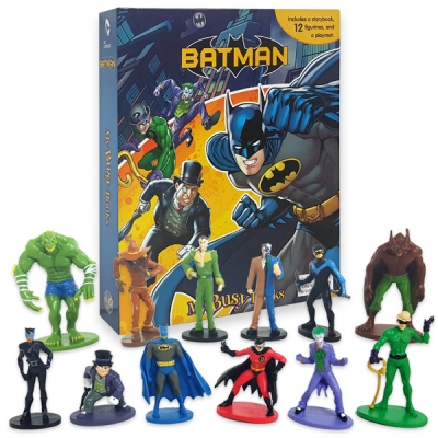 Batman My Busy Book 피규어북