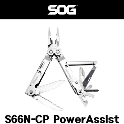 SOG 멀티툴 S66N CP PowerAssist 파워어시스트
