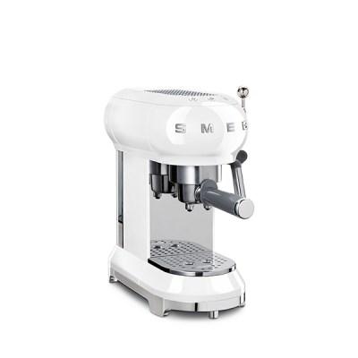반자동 커피머신 화이트 ECF01WH
