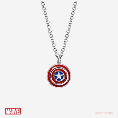 마블 캡틴 아메리카 브라스 목걸이