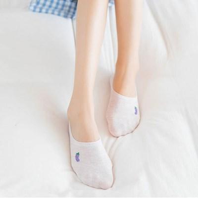 머쉬룸 발목양말(5개 세트)