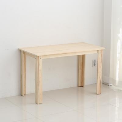 [잉카]자연주의 편백나무 원목 책상 테이블 1200