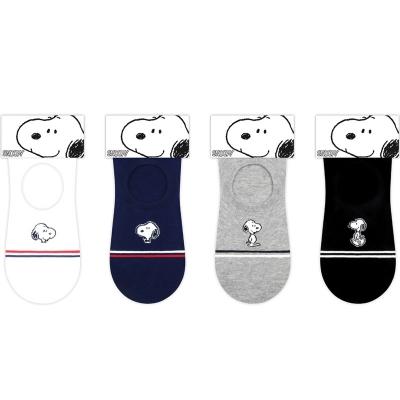 [Snoopy] P3. 링글 스누피 남성 덧신