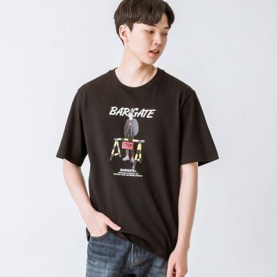 바리게이트 갱스터 반팔 티셔츠 (BFTS201)