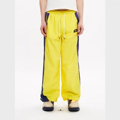 [블락스] TRACK PANTS YELLOW LOGO