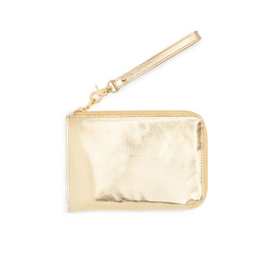 GETAWAY TRAVEL CLUTCH - METALLIC GOLD (여행클러치)