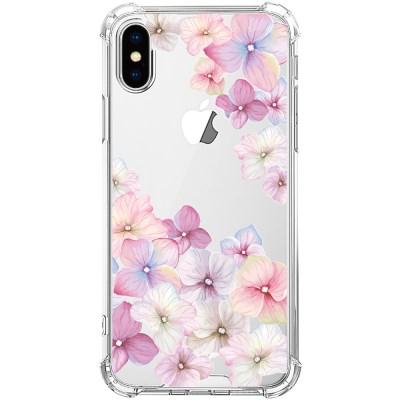 스키누 x  Flower 2019 투명케이스 핑크 벚꽃 플라워
