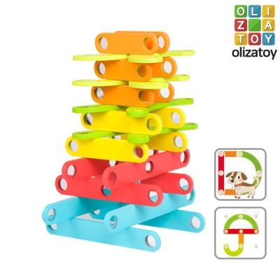 알록달록 원목 마이 학습 퍼즐 유아 장난감 교구