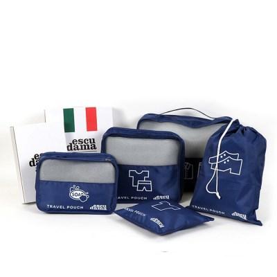 (에스쿠다마) 트래블 파우치 5종 여행용 보조 가방