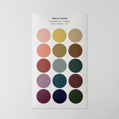 Color sticker 10type
