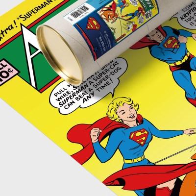 디씨코믹스 인테리어 포스터 - 슈퍼맨 실버에이지 10종 (S)