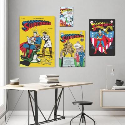 디씨코믹스 인테리어 그림 액자 - 슈퍼맨 골든에이지 10종 (M)