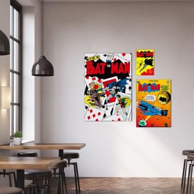 디씨코믹스 인테리어 그림 액자 - 배트맨 골든에이지 6종 (M)