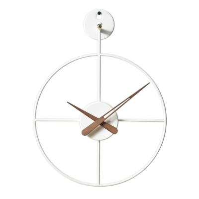 와이어벽시계/미니/WH