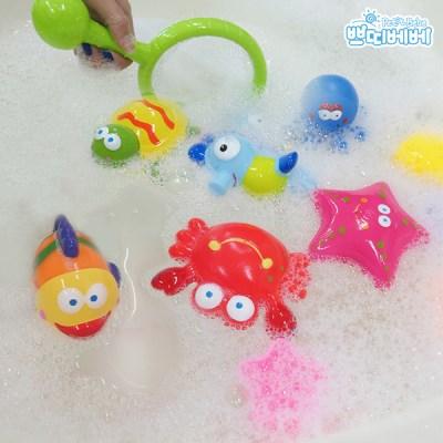 쁘띠베베 바다친구 목욕놀이 에센셜