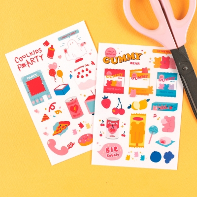 SELFCUTTING STICKER - FOR ME PARTY