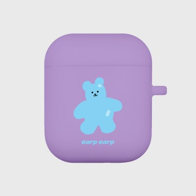 Color bear-purple(Air Pods)_(1119636)