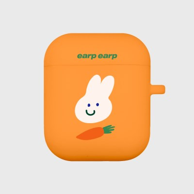 Rabbit carrot-orange(Air Pods)_(1119640)