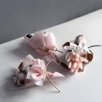 프리저브드플라워 라그라스 미니꽃다발
