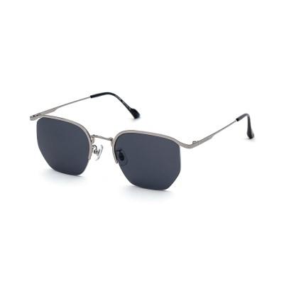 크로커다일 메탈 선글라스 CR7005_C3실버