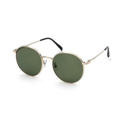 크로커다일 메탈 선글라스 CR7002_C2그린&골드