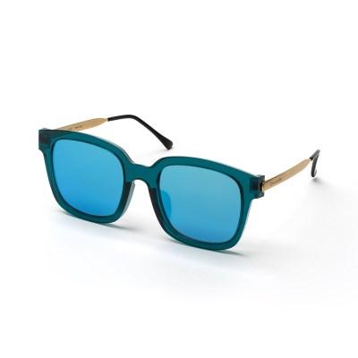 크로커다일 메탈콤비 선글라스 CR8027_C3 블루