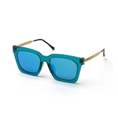 크로커다일 메탈콤비 선글라스 CR8025_C2 블루