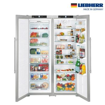 독일 프리미엄 리페르 냉장고+냉동고 SET SBSes7252 스테인레스
