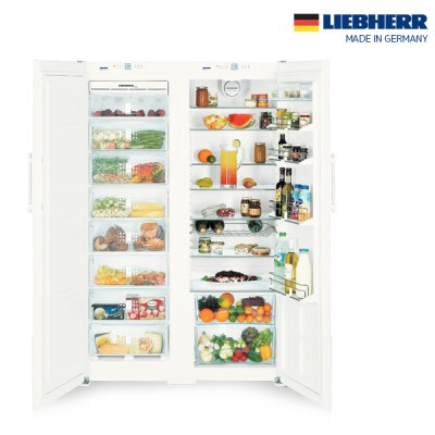 독일 프리미엄 리페르 냉장고+냉동고 SET SBS7252