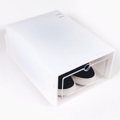 1+1+1 투명 신발정리함 신발장 조립식 플라스틱 보관함 상자 박스