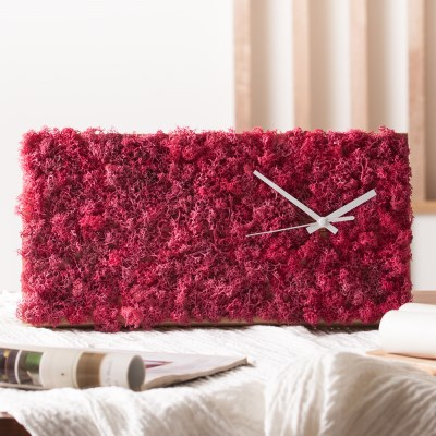 [숲앤숨] 가든 모스 벽시계(60x25cm) - 씨클라멘