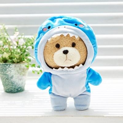 19곰테드 동물옷 상어 샤크 우주복 캐릭터 인형_(1189438)