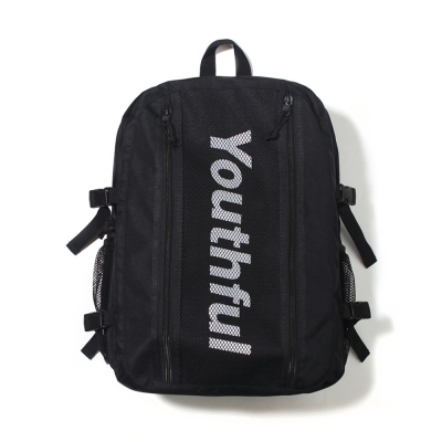 SIDE LOGO BACKPACK-BLACK