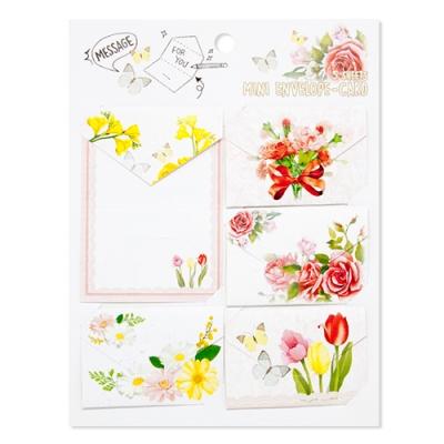 디원 꽃 미니미니카드 (JD07)