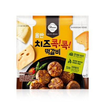 신세계푸드 올반키친 치즈 콕콕 떡갈비 500g