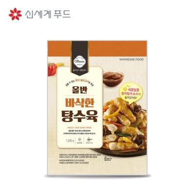 신세계푸드 올반 키친 바삭한 탕수육 1.2kg