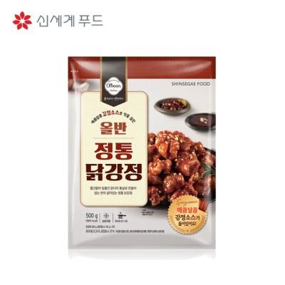 신세계푸드 올반 키친 정통 닭강정 500g