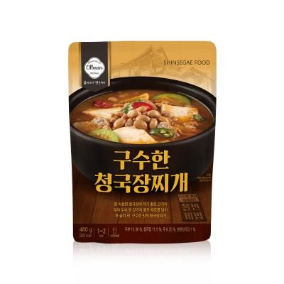 신세계푸드 올반키친 구수한 청국장 찌개 480g
