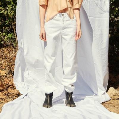 [써틴먼스] BOY FIT DENIM PANTS WHITE