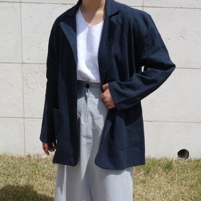 Simple linen jacket(린넨100%)