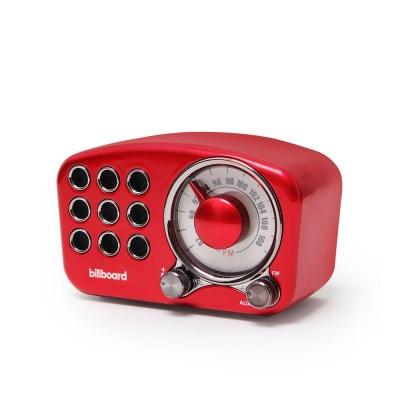 빌보드 블루투스 스피커 / FM라디오 RW-01 RED