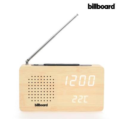 빌보드 LED 시계 & FM라디오 WC-02