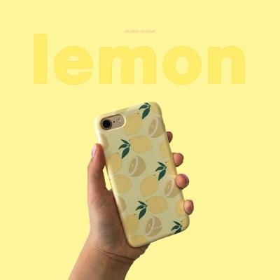 [뮤즈무드] lemon 아이폰케이스